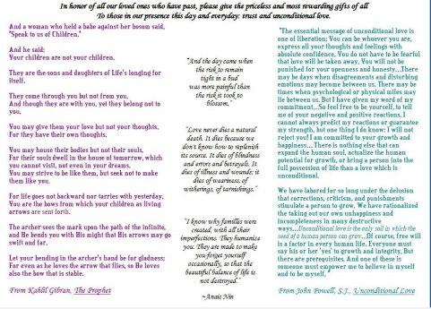Anais's memorial quotes